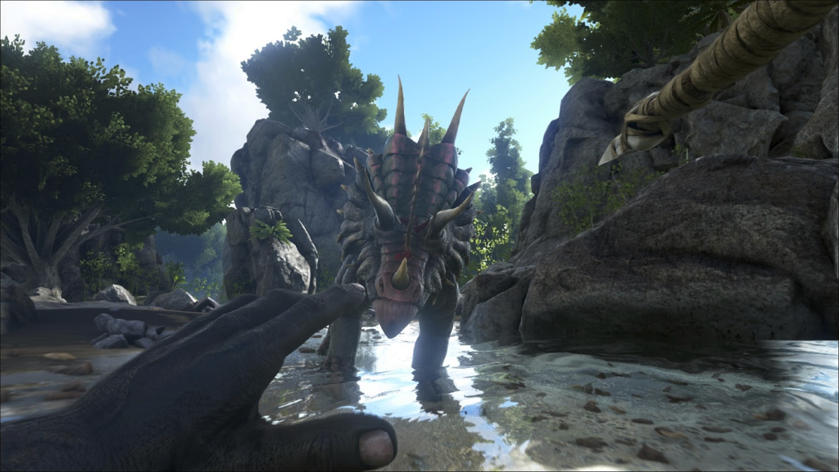 ARK-Survival-Evolve-NVIDIA-Gameworks